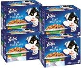 Felix Pouch Elke Dag Feest - Lekkere Groenten - Kattenvoer - 48 x 100 g