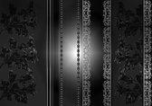 Fotobehang  Floral Pattern | L - 152.5cm x 104cm | 130g/m2 Vlies