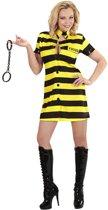 Boef Kostuum | Vrouwelijke Gevangene Dalta Kostuum | Large | Carnaval kostuum | Verkleedkleding