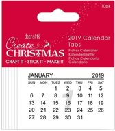 2019 Kalender Tabbladen- Create Christmas