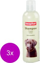 Beaphar Shampoo Puppy - Hondenvachtverzorging - 3 x 250 ml