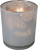 Waxinelichthouder Jungle Melkwit (12,5 x 10 cm)