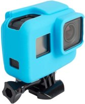 Pro Series Soft Siliconen voor Case Protective Housing GoPro Hero (2018) / 5 / 6 / 7 BLACK - Blauw