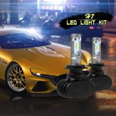 2 STKS H7 IP65 Waterdicht Wit Licht 6 CSP LED Auto Koplamp Lamp, 9-36 V / 18 W, 6000 K / 2000LM