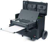Hulshof Mobile Office Trolley HP200/Canon iP110 - printerkoffer met trolley, interne stroomaansluiting en ruim opbergvak