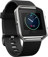 Fitbit Blaze HR Activity tracker - Zwart - Large