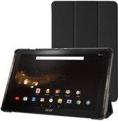 Acer Iconia Tab 10 A3-A40 Tri-Fold Book Case Zwart