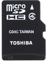 Micro SDHC Card with Adapter 8GB