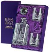 Royal Scot Crystal Highland Decanter Set