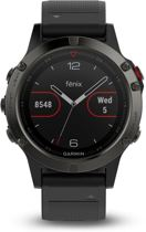 Garmin Fenix 5 - GPS multisport smartwatch met polshartslagmeter - Ø 47 mm - Leisteengrijs