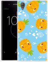 Sony Xperia XA1 Plus Hoesje Love Ananas