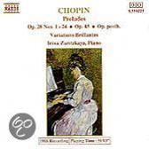 Chopin: Preludes, etc / Irina Zaritzkaya