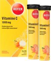 Roter Vitamine C Bruis 1000  mg - 40 Bruistabletten - Vitaminen