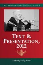 Text & Presentation, 2012
