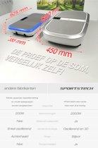 Sportstech Germany VP300 trilplaat - 2x1000 watt - Bluetooth