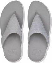 Fitflop Lottie Glitzy slippers dames grijs/zilver