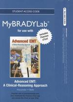 NEW MyLab BRADY with Pearson eText -- Access Card -- for Advanced EMT