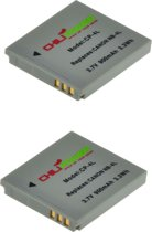 ChiliPower NB-4L accu voor Canon - 900mAh - 2-Pack