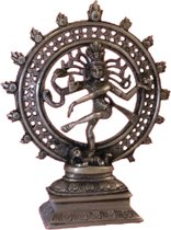 Shiva Nataraj messing 1 kleur - 20 cm - 1020 g