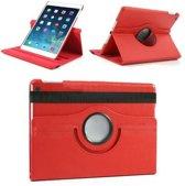iPad Air 2 360 rotative case cover rood