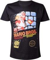 Officieel gelicenseerd - Super Mario Brother T-Shirt - Heren  M