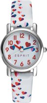 Esprit ES906524001 - Horloge - Leer - 27.5 mm - Wit