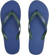 Sundaze - Teenslippers mannen - Maat 44 - Blauw/groen
