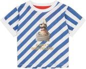 Tuk gestreept shirt met urker vissers print