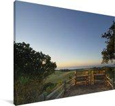 Uitzicht over de zee van het iSimangaliso in Zuid-Afrika Canvas 140x90 cm - Foto print op Canvas schilderij (Wanddecoratie woonkamer / slaapkamer)