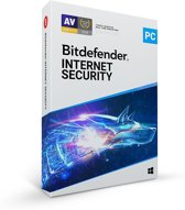 Bitdefender Internet Security 2020 - 5 Apparaten - 2 Jaar - Nederlands - Windows Download