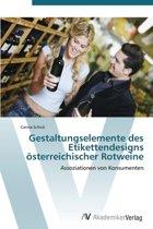 Gestaltungselemente Des Etikettendesigns Osterreichischer Rotweine