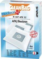 CleanBag M107AFK12 Stofzuigerzak MicroFleece+ AFK, Bestron etc.