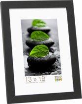 Deknudt Frames Basic, smal zwart, hout (MDF) fotomaat 30x40 cm