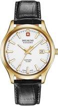 SWISS MILITARY HANOWA Major horloge  - Zwart