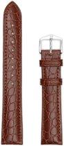Hirsh Horlogeband -  Aristocrat Bruin - Leer - 20mm