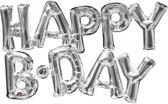 Happy Birthday aluminium ballon - Feestdecoratievoorwerp
