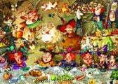 Legpuzzel - 500 stukjes -  Heks - Etentje, Francois  Ruyer - Grafika puzzel