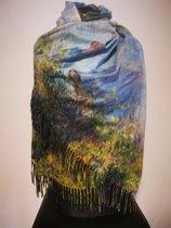Paco's Ibiza Art Dames Wintersjaals