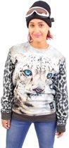 Breaking Rocks Trui Snow Leopard Sweater L