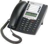 AASTRA 6730a analoge telefoon met 2x8 DIREKTE GEUGENTOETSEN, 100 GEHEUGENS-op-NAAM en NUMMERHERKENNING