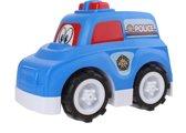 Free And Easy Speelgoedauto Politie 24 Cm Blauw
