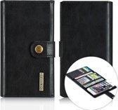 dg ming luxe magnetische leren wallet iphone 6 s zwart