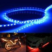 5 STKS 45 LED 3528 SMD Waterdichte Flexibele Auto Strip Licht voor Auto Decoratie, DC 12 V, lengte: 90 cm (Blauw Licht)