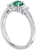 Swarovski Attract Trilogy Ring  (Maat: 50) - Zilver