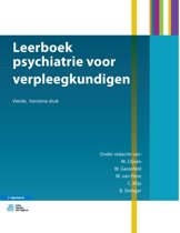 Specialistische verpleegkunde - Leerboek psychiatrie voor verpleegkundigen