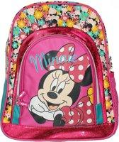 Disney Minnie Mouse Rugtas Kinderen Backpack, Maat: One size