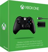 Microsoft Xbox One Wireless Controller met 3,5 mm headset-aansluiting + Oplaadkit