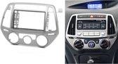 2-DIN HYUNDAI i-20 2012-2014 (Manual Air-Conditioning) frame Audiovolt 11-426