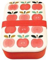 Rex London lunchbox bamboe Vintage Apple Lunchbox Vintage Apple