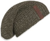 Knit Factory Coco Beanie Groen/Olive